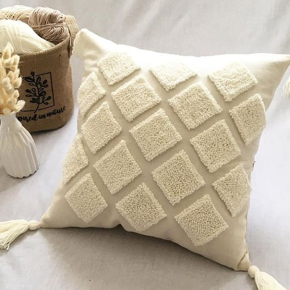 Pillow for Sofa made with Linen