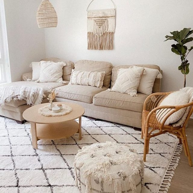 Abstract Design for Living room