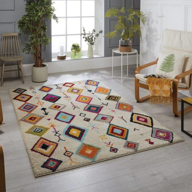 Sheep Wool made Carpet for Living room