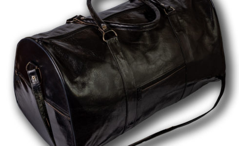 Goat Leather Made Duffle