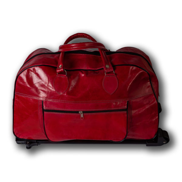 Travel Bag Leather Integrated Kit